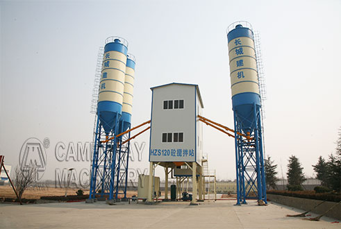 120 concrete batching plant