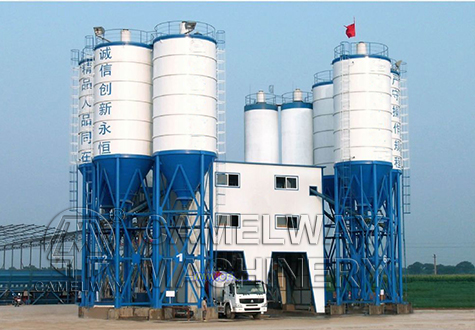 hzs batching plant