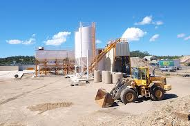 concrete mixing station